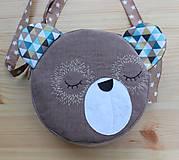 Detské tašky - Kabelka - macko  - 7504488_