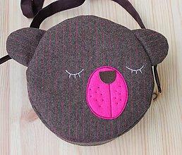 Detské tašky - Kabelka - macko - 7504603_
