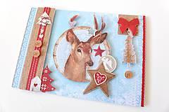 Papiernictvo - pohľadnica vianočná - 7500310_