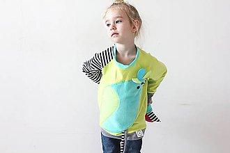 Detské oblečenie - Pipi tričko D - 7504803_