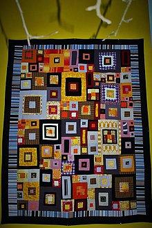 Úžitkový textil - V krajine Gustáva Klimta - 7502915_