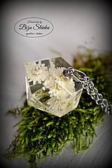 Náhrdelník Kvet v diamante (2097 B CHO)