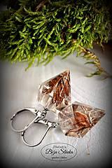 Náušnice - Náušnice Šiška v diamante (2098 A CHO) - 7500898_
