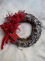 Dekorácie - Vianočný veniec - 7501533_