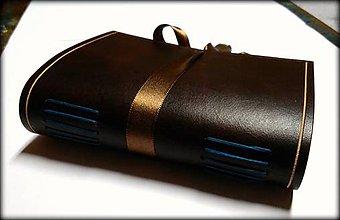 Papiernictvo - Kožený zápisník ,,Joachim\