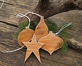 Dekorácie - Nostalgické natur Vianoce II. - 7500339_
