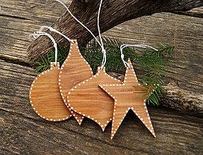 Dekorácie - Nostalgické natur Vianoce II - menšie - 7500617_