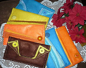 Peňaženky - Peňaženky filcové - 7504715_