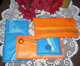Peňaženky - Peňaženky filcové - 7504733_