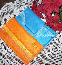 Peňaženky - Peňaženky filcové - 7504753_