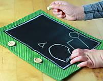 Hračky - zapínací list k detskej tabuľovej knižke - 7505820_