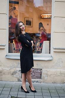 Šaty - Bamboo šaty Amabile černé - 7505993_