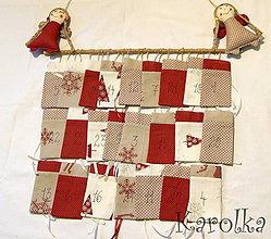 Dekorácie - Adventný kalendár - Polárka - 7505520_