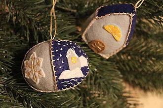 Dekorácie - Vianočné ozdoby - sada č.1 - 7506176_