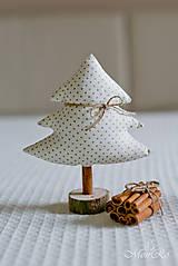 Drobnosti - Vianočné dekorácie stromčeky - 7505549_
