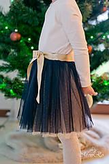 Detské oblečenie - Tylová suknička - 7506201_