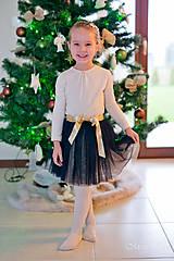 Detské oblečenie - Tylová suknička - 7506203_