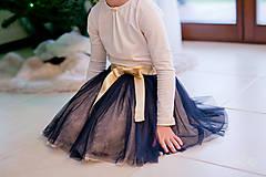 Detské oblečenie - Tylová suknička - 7506216_