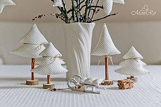 Drobnosti - Vianočné dekorácie stromčeky - 7505547_