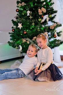 Detské oblečenie - Tylová suknička - 7506199_