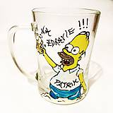 Nádoby - Maľovaný pivový pohár na želanie - 7507665_