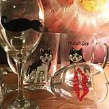 Nádoby - Maľovaný pivový pohár na želanie - 7507705_
