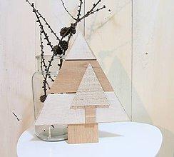 Dekorácie - Stromček natur - 7509989_