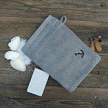 Úžitkový textil - Abrazívne žinka - kotva - 7508814_