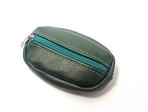 Kľúčenky - Zelená kľúčenka pre poľovníka - 7508123_