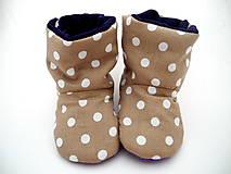 Topánočky - Teplé papučky - 7506087_