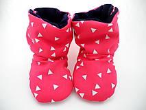 Topánočky - Teplé papučky - 7506111_