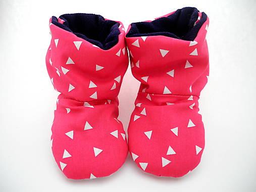 Teplé papučky