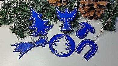 Dekorácie - Vianočné ozdoby sada 6 ks - 7507547_