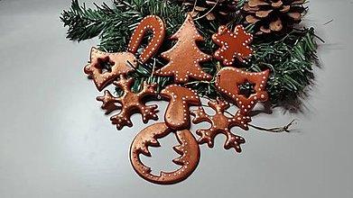 Dekorácie - Vianočné ozdoby sada 9 ks - 7509178_
