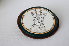 Odznaky/Brošne - Srnec Bystrík // brošňa - 7506783_