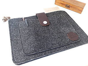 Na tablet - Obal na tablet antracit - 7507005_
