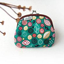 Peňaženky - Peňaženka Sýtozelená lúka - 7508739_