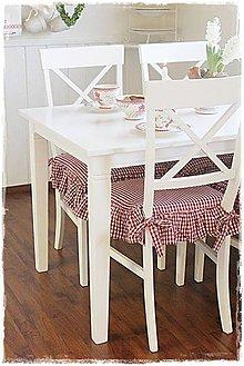 Úžitkový textil - Podsedáky na stoličky a lavicu - 7505787_