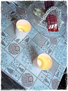 Úžitkový textil - Vianočný obrus - 7506462_
