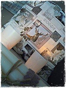 Úžitkový textil - Vianočný/zimný vankúš - 7506495_
