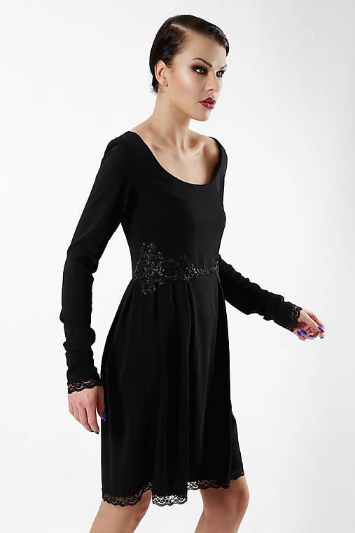Little Black   ceccilia - SAShE.sk - Handmade Šaty adc891e5022