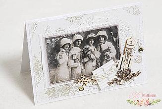 Papiernictvo - Vianočná pohľadnica V - 7514392_