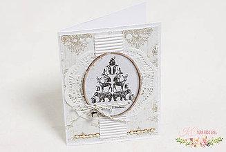 Papiernictvo - Vianočná pohľadnica VI - 7514421_