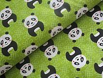 Úžitkový textil - Panda Wanda - 7515751_