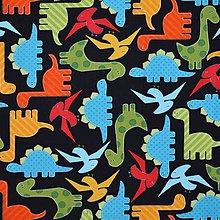 Textil - Minidinosauríky - 7515565_