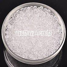 Korálky - Korálky sklenené brúsené 6x4mm-číre - 7514579_