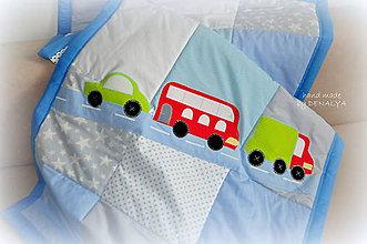 Úžitkový textil - Prehoz z kolekcie Záchranár 120x205cm vzor B - 7515948_