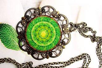 Odznaky/Brošne - Mandala Zeme veľká - 7514404_