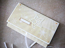 Papiernictvo - Obálka na peniaze - vianočná - 7512081_