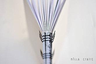 Papiernictvo - Ručne sitý zápisník - Black & White Deluxe - 7513077_